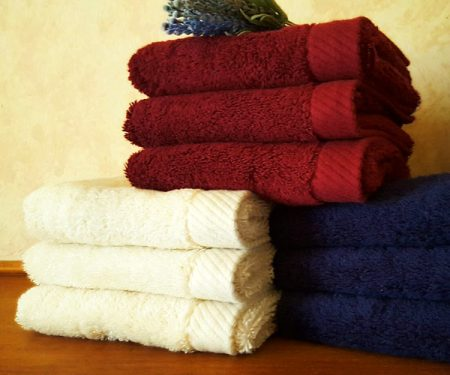Deluxe Large Organic Cotton Hand-towels