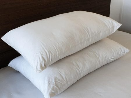 PILLOW – Luxury Organic Silk Cotton – various sizes (soft)