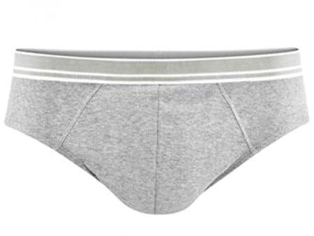 Mens Briefs – Cotton Elastane – grey or white