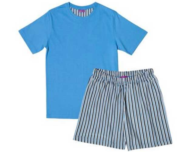 Mens Shortie Pyjamas