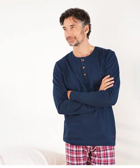 Mens Interlock and Flannel Pyjamas