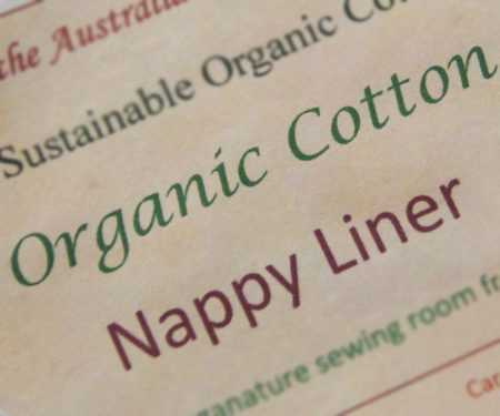Nappy Liners Organic Cotton