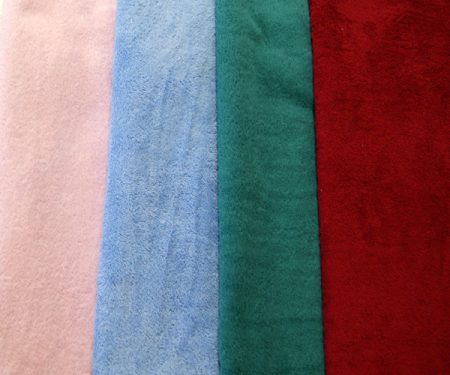 Organature Coloured Organic Cotton Hand Towels