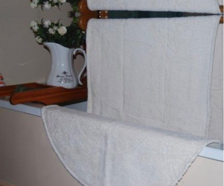 Organic Natural Terry Bath Mats