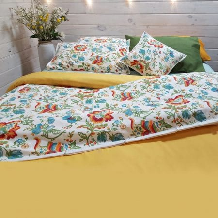 organic-cotton-canvas-botanica-print-with-green-and-yellow