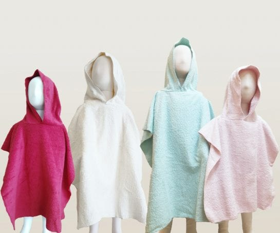 organic-cotton-childs-hooded-beach-towels-coloured
