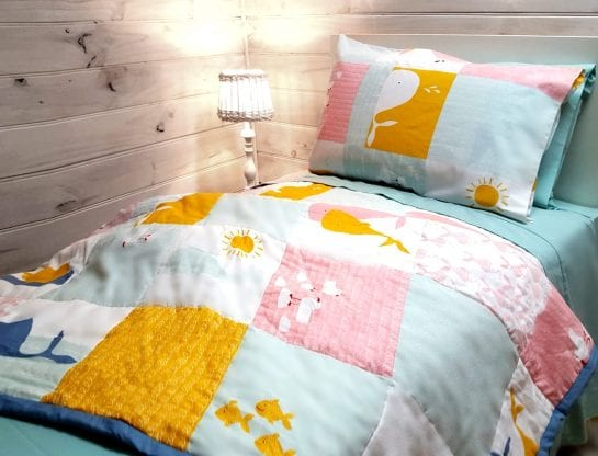 organic-cotton-comforter-set-single-bed-size-whale-design
