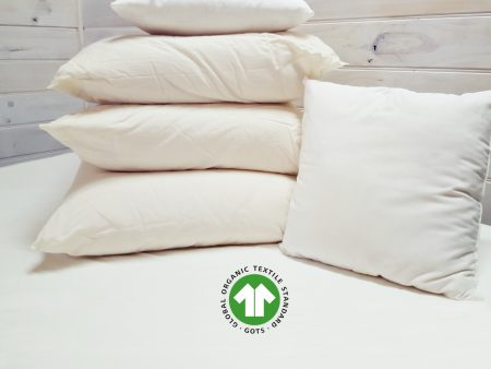 CUSHION INSERTS – GOTS Certified 100% Organic Cotton – various sizes