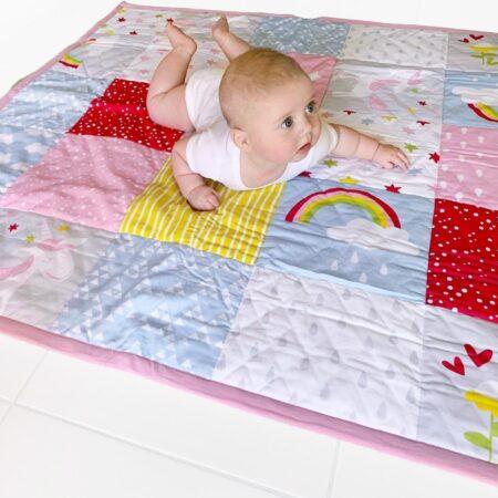 organic-cotton-floor-baby-play-mat-rainbow-design