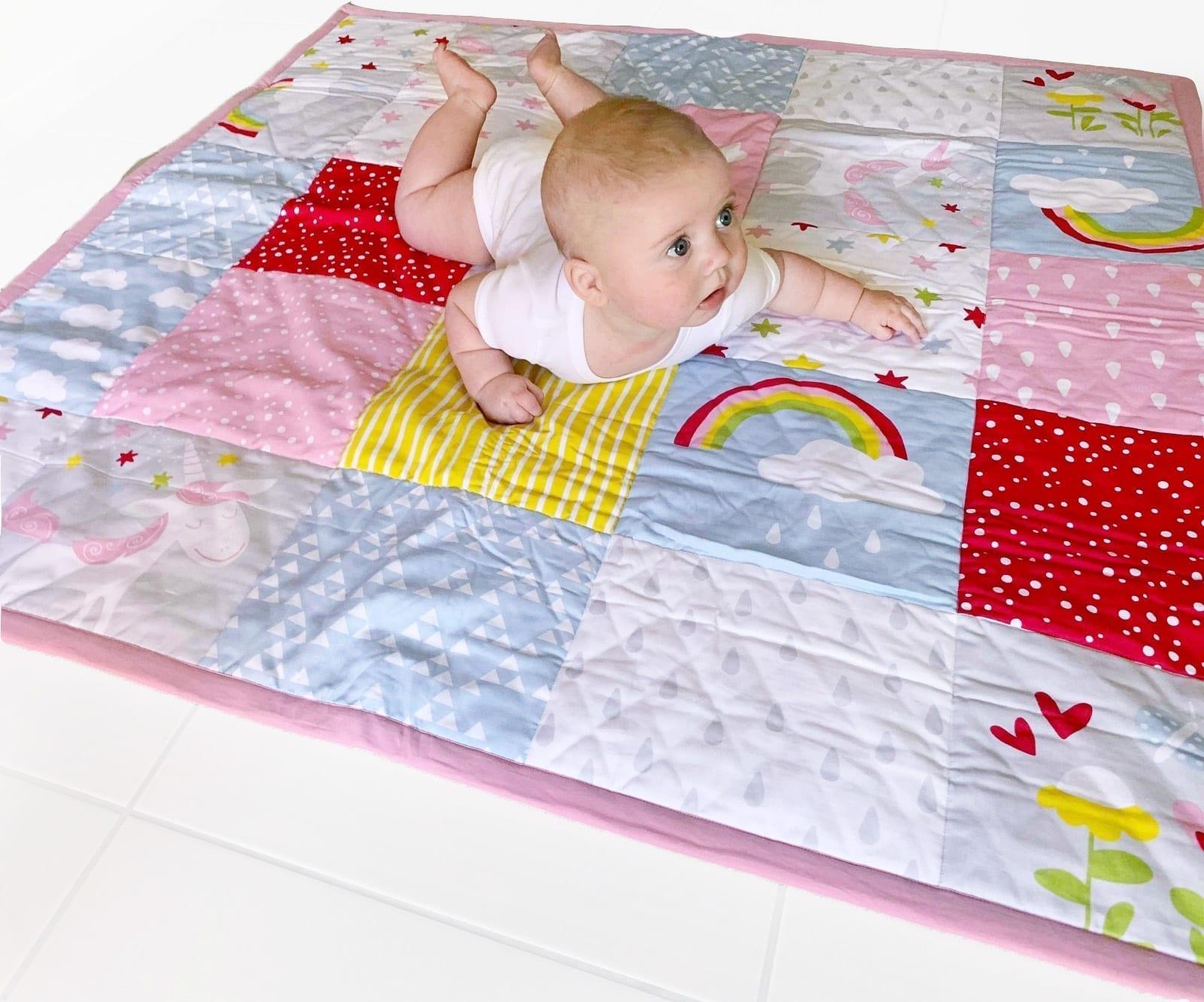 Organic Cotton Floor Mat Baby Play