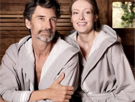 Spa Robe With Hood – 100% Organic Cotton – small/medium