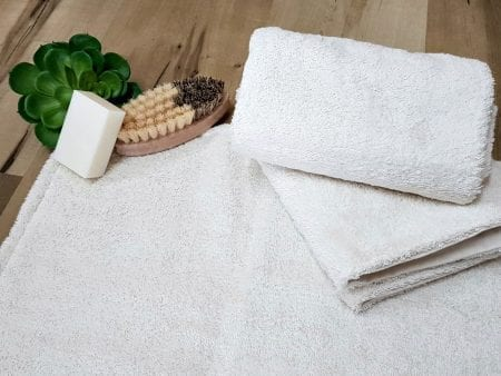 Organic Cotton Bath / Shower Mats – small or large – natural