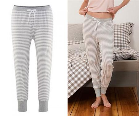 Womens Pyjama Pants – Aveline – 100% Organic Cotton