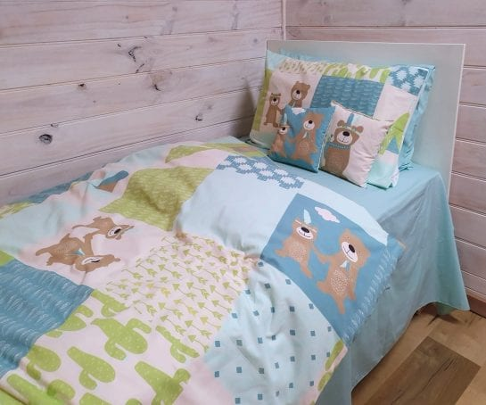 patch-print-quilt-covers-and-pillowcases-organic-cotton-cot-single-sizes-bear-design