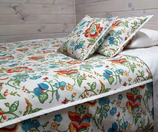 quilt-cover-and-pillowcase-organic-cotton-botanica-print-WHITE-TRIM