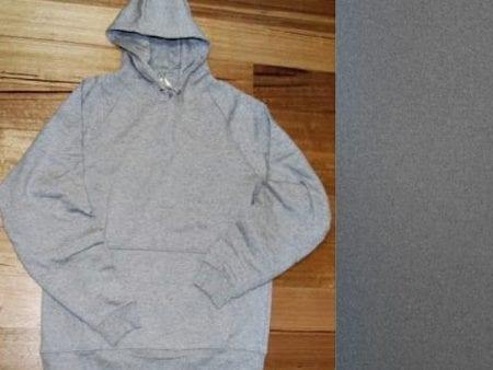 Unisex Hoodie – Organic Cotton – light or dark grey – small sizes