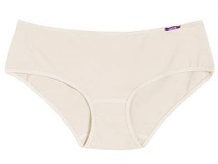 Womens Organic Cotton Classic Panties – black, natural, lavender
