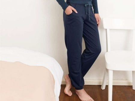 Womens Relaxed Organic Cotton Trouser – various colours